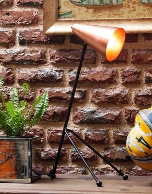 Orange Tree Icosa Copper Table Lamp