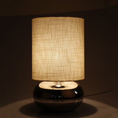 Craftter Khadi off White Color Decorative Table Lamp