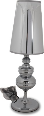 Vishal Props Table Lamp - Ss Finish With Silver Top Table Lamp