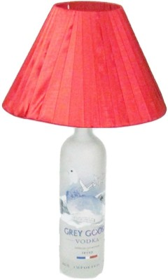 Aadhya Creations Grey Goose With Red Table Lamp