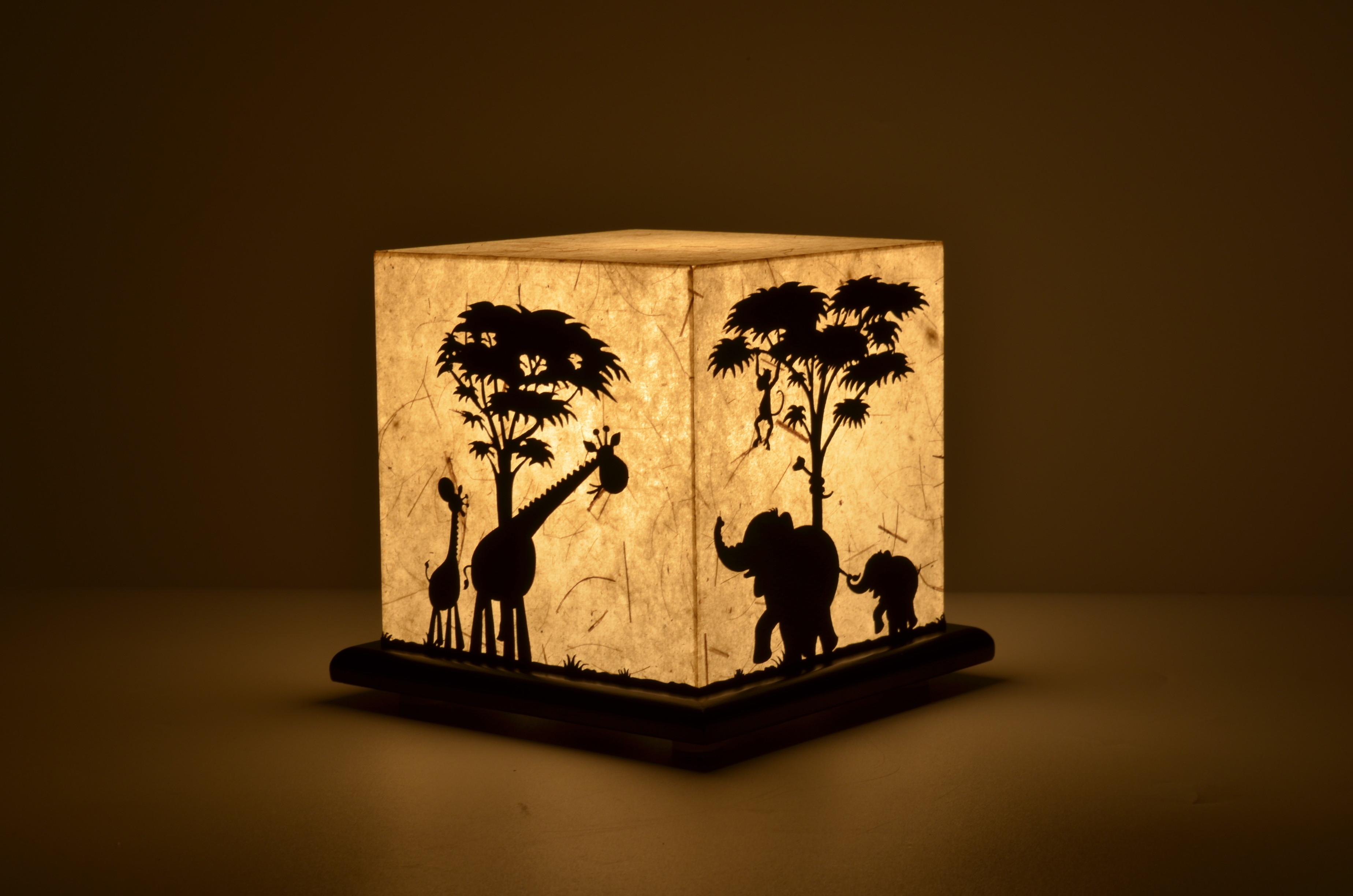 Shady Ideas Jungle Mania Table Lamp