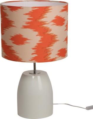 Bespoke Crafts HUMPTY WHITE & ORANGE Table Lamp