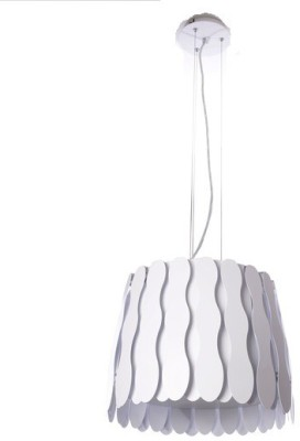 Adithya Lamps Coop White Pendant Night Lamp