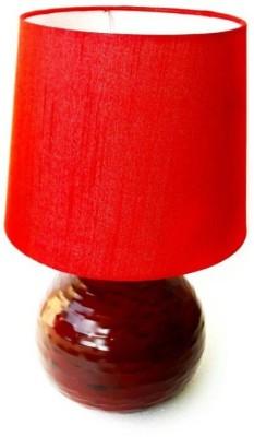 TheGoldenGates Red Royal cheery Table Lamp