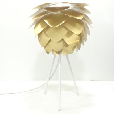 Hatsu Uno Golden Table Lamp