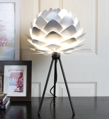 Hatsu Uno Silver Table Lamp