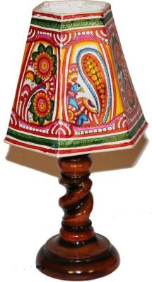 Nayahub Peacock Flower Hexagonal Table Lamp