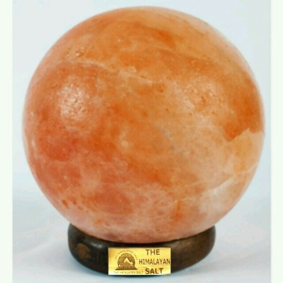 The Himalayan Salt Globe Shape Table Lamp