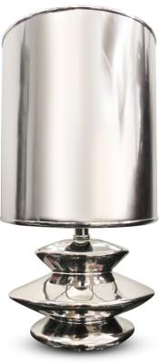 Calmistry Silver Metallic Table Lamp