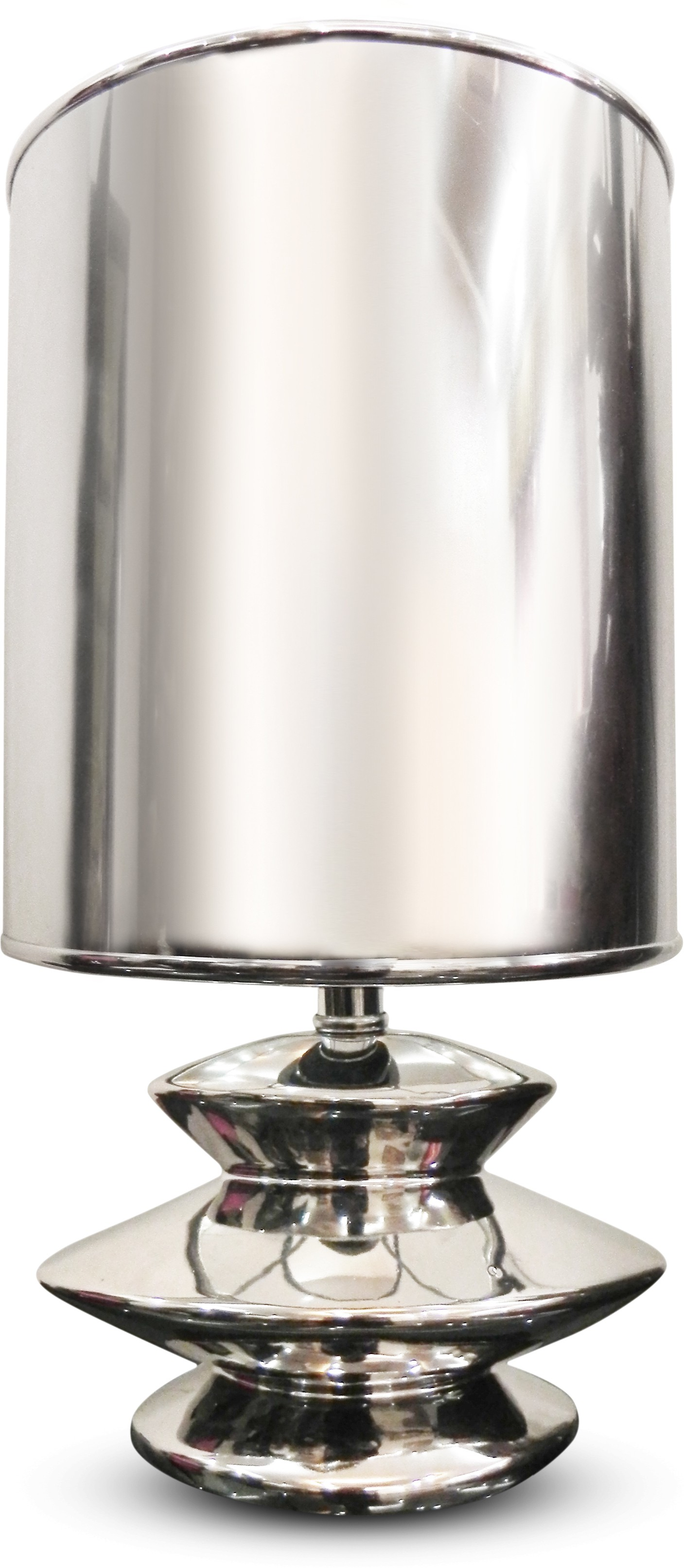 Calmistry Silver Metallic Table Lamp