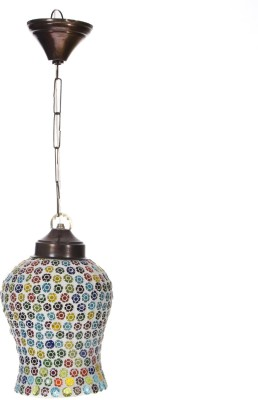 Smile2u Retailers Rajasthani Stone Mosaic Worked Night Lamp