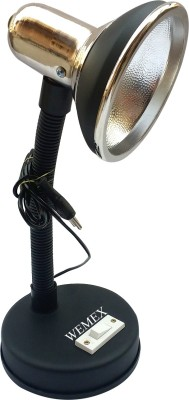 Wemex Fantasy Studying & Reading Matte Black Table Lamp