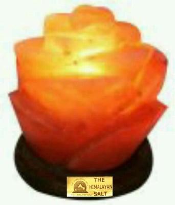 The Himalayan Salt Rose Petal Shape Table Lamp