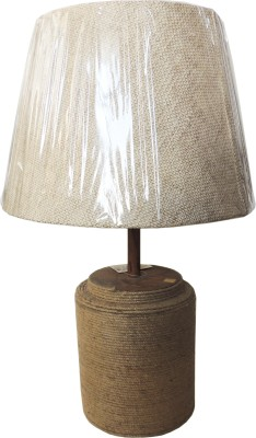 The Decor Mart Office and Home Table Lamp(152.4 cm, Brown)