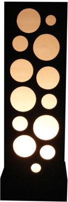 Diya Designs 50 cm Moroccan Style Wooden Brown Table Lamp