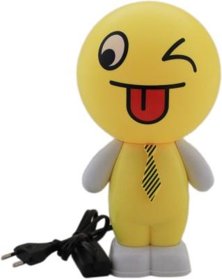 Tootpado Smiley Cartoon LED Desk - 1m193 - Table , Study (Size: 12x12x24 cm) Night Lamp