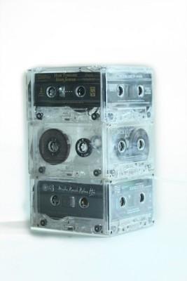 10 Am Cassette (Straight) Table Lamp