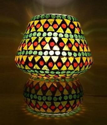 Priyal Artz Geometric Table Lamp