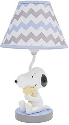 Lambs & Ivy My Little Snoopy with Shade and Bulb Table Lamp