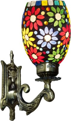Weldecor Antiqua Brasso Floral Era Night Lamp