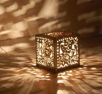 Daksha Dancing Wooden Table Lamp