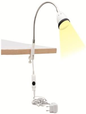 Renata LED Clamp Light - Illumina - NW - BLK Table Lamp