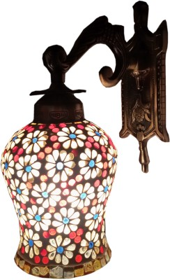 Weldecor Antiua Brasso Floral Polka Dots Stars Night Lamp