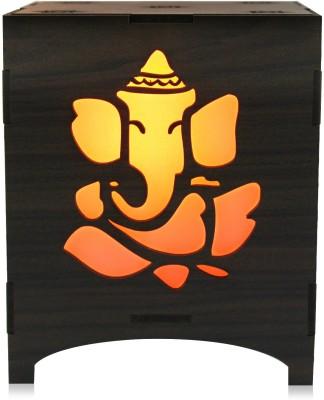 Saibhir Ganesh ji And Gaytri Mantra Lamp Table Lamp