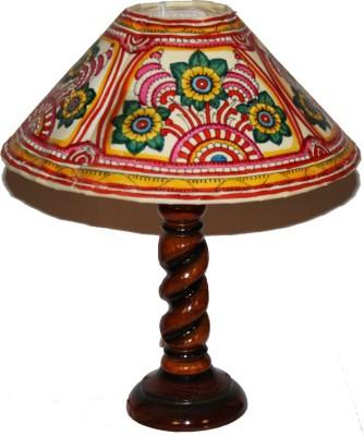 Nayahub Round Flower Round Shade Table Lamp