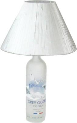 Aadhya Creations Grey Goose With Grey Table Lamp