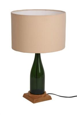 Bespoke Crafts BEIGE CHAMPANGE ROUND Table Lamp