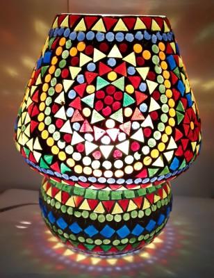 Priyal Artz Beautiful MultiColor Table Lamp