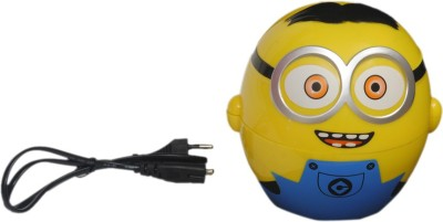 Montez Minion Kids Foldable Led Light with charger Study Lamp