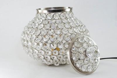 Homesake Cauldron Of Light- 192 Crystal Table Lamp