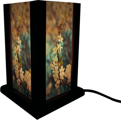 Huppme Gifts Four Side Flower Table Lamp Table Lamp