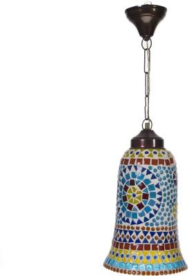 Smile2u Retailers Rajasthani Stone Mosaic Worked Hanging Night Lamp