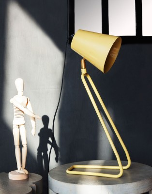 Orange Tree Perth yellow Table Lamp
