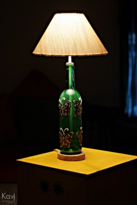 Kavi The Poetry Art Project Butterfly Table Lamp