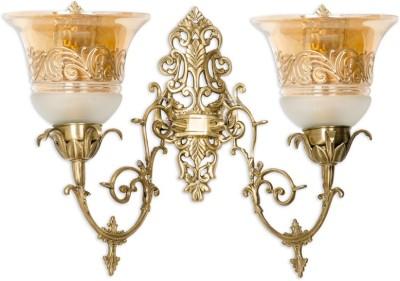 Fos Lighting Ornate Cast Brass Double Lustrous Night Lamp