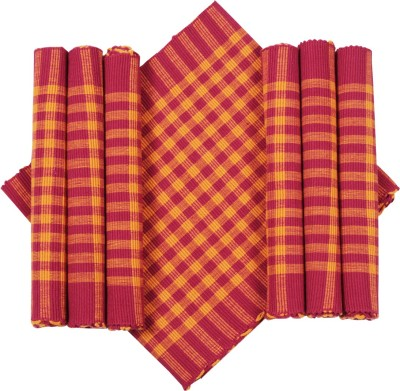 Dhrohar Orange Organic Cotton Table Linen Set