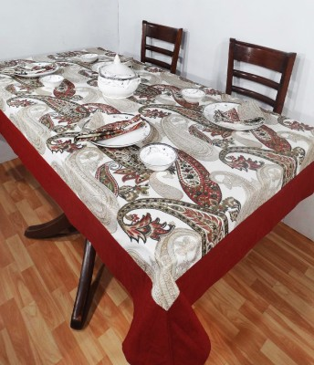 Heritagefabs Paisley 6 Seater Table Cover
