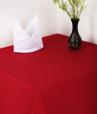 Insignia Maroon Linen Table Linen Set