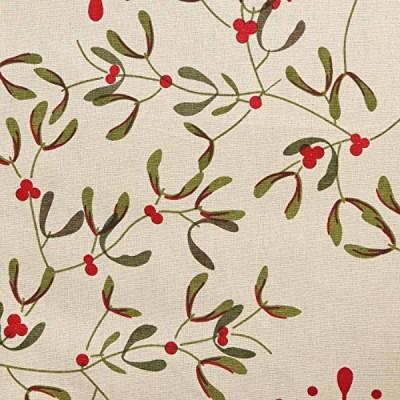 CPM HANDLOOM Beige, Red Table Linen Set