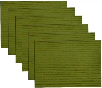 meSleep Green Silk Table Linen Set