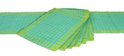 Dhrohar Green Organic Cotton Table Linen...