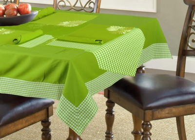 elan Green Organic Cotton Table Linen Set