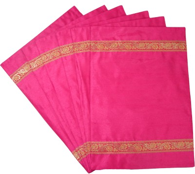 Home Shine Pink Polyester Table Linen Set