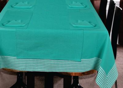 Elan Blue Organic Cotton Table Linen Set(Pack of 14)