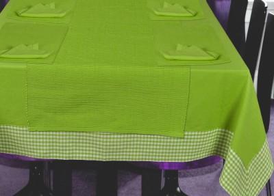 elan Green Organic Cotton Table Linen Set