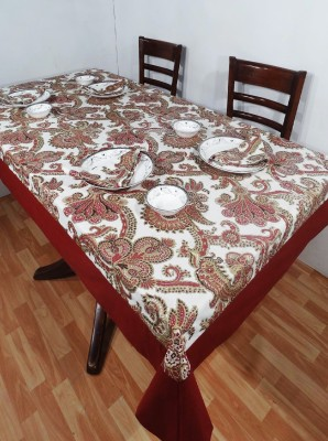 Heritagefabs Paisley 4 Seater Table Cover